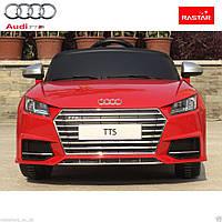 AUDI TTS RED детский электромобиль с пультом управления