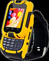 Годинник-телефон KenXinDa W10, клавіатура, камера, 2 SIM-карти, сенсорний екран +Bluetooth-гарнітура!, фото 1