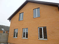 Решетки на окна металлические тип луковица