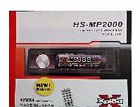 Автомагнитола Mp3 HS-MP 2000 CAR AUDIO Евро-разъем, автомобильная магнитола USB 2.0 16Гб, автомагнитола 1DIN