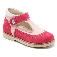 Ортопедические туфли FS Сollection для девочки, кожаные, размер 20-30, фото 1