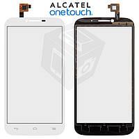 Touchscreen (сенсорный экран) для Alcatel One Touch 7047 POP C9 Bluish, оригинальный (белый)