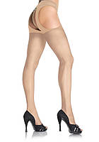 Колготки чулки Sheer Suspender Pantyhose O/S