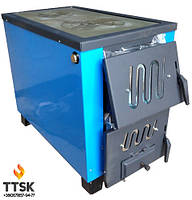 КОТВ-17,5квт (Тайга) Твердотопливный котел-печь для отопления и приготовления пищи.
