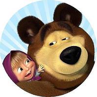 Маша и медведь 10 Вафельная картинка