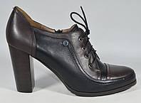 Туфли закрытые осенние TANSSICO натуральная кожа