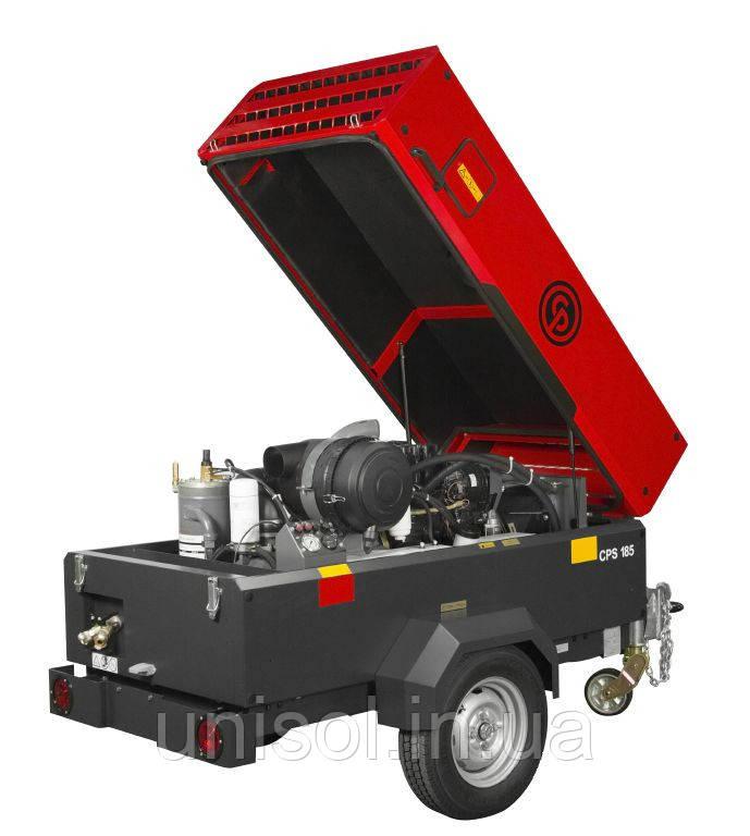 Передвижной дизельный компрессор CPS 5.0 - 5м3/мин - 7 бар.