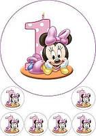 Микки Маус 5 Вафельная картинка