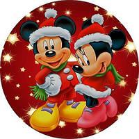Микки Маус 8 Вафельная картинка