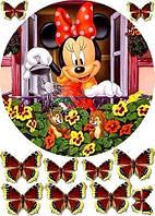 Микки Маус 9 Вафельная картинка
