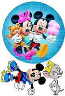 Микки Маус 10 Вафельная картинка