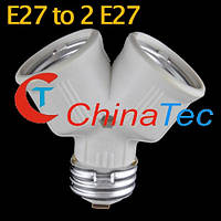 Двойник для лампы E27 , фото 1