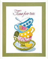 Crystal Art Time for tea Набор для вышивки крестом ВТ-005