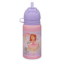 Маленькая бутылочка для воды София Прекрасная Sofia and Amber Aluminum Water Bottle - Small
