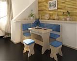 Кухонный уголок 310 мм, ткань 2 кат., фото 4