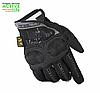 "Перчатки военные, тактические MECHANIX WEAR Mpact - 3   (повнопалие ""L-ХЛ""), тактичні рукавиці (black)"