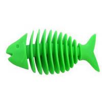 Игрушка для собак массажер для десен малый рыбка дентл 14см