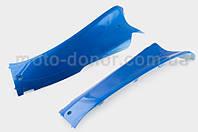 """Пластик VIPER STORM 2007 нижній пара (лижі) (синій) """"KOMATCU"""""""