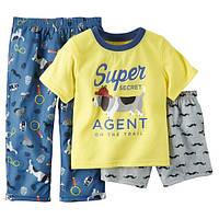 "Набор пижам для мальчика ""Супер агент"", фото 1"