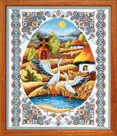 Crystal Art На заливних луках Набор для вышивки крестом ВТ-011