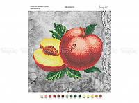 Схема вышивки бисером «Персики» (A4)