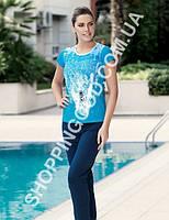Женская пижама Mel Bee (Sahinler) MBP 22719, костюм домашний с брюками