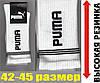 """Носки спортивные мужские демисезонные """"Puma"""" высокая резинка 42-45р.белые  НМД-248"""