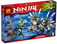 "Конструктор Lele Ninja (аналог Lego Ninjago) 79132 ""Битва титанов"", 959 дет , фото 1"