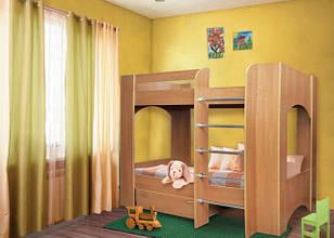Двухярусные кровати из ДСП