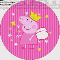 Пеппа 5 Вафельная картинка