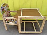 Стіл-стільчик для годування, фото 2
