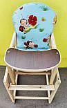 Стіл-стільчик для годування, фото 4