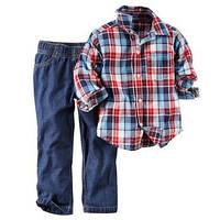 "Комплект штаны +рубашка ""Модник"""
