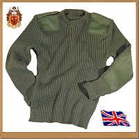 Свитер «Commando» (ОЛИВА, армия Британии), фото 1