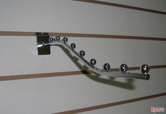 Кронштейн (флейта) в економпанель ( експопанель ) на 7 куль. 32см