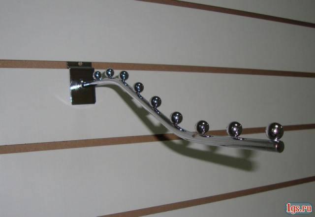 Кронштейн (флейта) в економпанель ( експопанель ) на 7 куль. 32см, фото 2