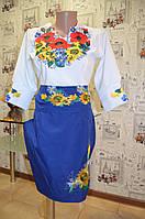 """Вишите плаття """"Квітковий рай""""  , фото 1"""