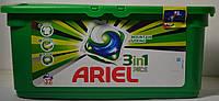 Гель-капсулы для стирки  белого белья Ariel 30 шт. Ариель Бельгия