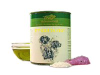 Корм премиум-класса для собак консервированный Hubertus Gold. Птица и рис 800 г