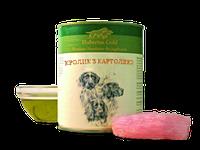 Корм премиум-класса для собак консервированный Hubertus Gold. Кролик с картошкой 800 г