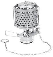 Лампа газовая с металлическим плафоном с пьезоподжигом, в пластиковом футляре Tramp