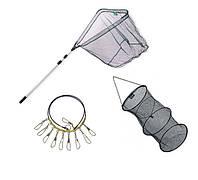 Підсаки, садки і кукани для риболовлі