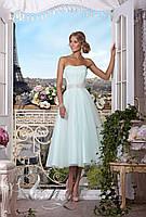 """Коктейльное платье """"Воздушный поцелуй"""" (миди) Прокат 3600грн."""