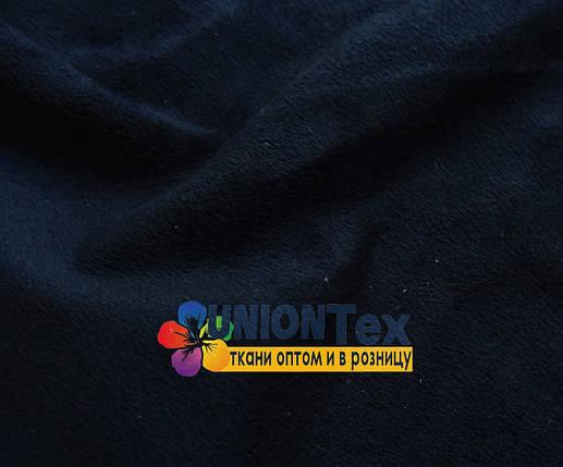 Искусственная замша темно-синяя (отрывная), фото 2