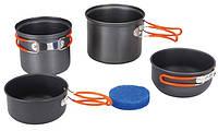Набор посуды из анодированного алюминия на 1-2 персоны Tramp TRC-075