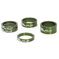 """Проставочные кольца, XLC AS-A02, 1 1/8"""", зеленые (2500531508)"""