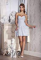 Короткое свадебное платье «Сердцеедка»