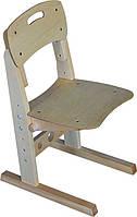 """Детский регулируемый стул с дерева """"Новичок элит"""" растущий стульчик (береза, 3-11 лет, 30 кг)"""