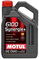 Моторное масло Motul 6100 SYNERGIE+ SAE 10W40 (5L)