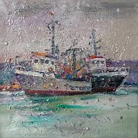 «Морской пейзаж. Болгария» картина маслом